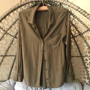 Velvet Heart long sleeves button down shirt
